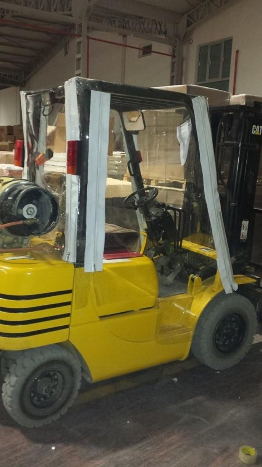 Forklift Kabin Kapama