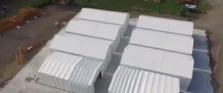 Akordiyon Depo Çadırı
