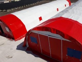 Depo Çadırı - Şantiye Brandası